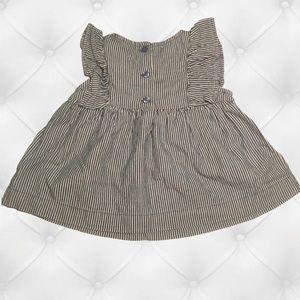 Baby Gap Girls Gray Dress 12-18 Months